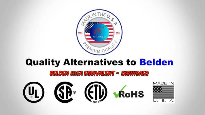 Belden Cable Alternatives Found | Page 6 of 6 | 1X Technologies ...