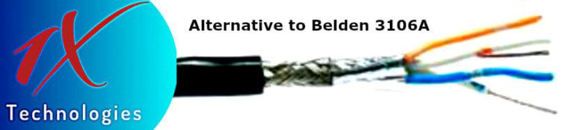 Belden 3106A Price, Belden 3106A Equivalent, 3106A Equal, Belden 3106A Specification, 3106A English Spec, 3106A Belden, Belden 22 AWG 3C Shielded 300V