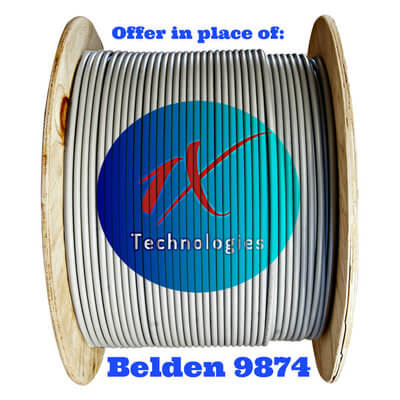 Belden 9873 Cable Price, Belden 9874 Equivalent, 9874 Equal, Manufacturer of B9874, Belden 9874 Suppliers