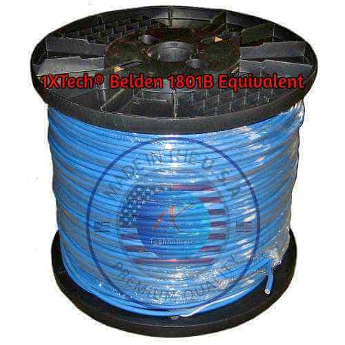 Belden 1801B Cable, Price, PDF Spec, Equivalent, Plenum