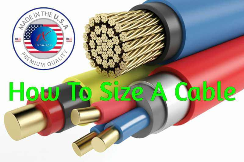 How to size a Cable Correctly Step-By-Step [Comprehensive Guide]
