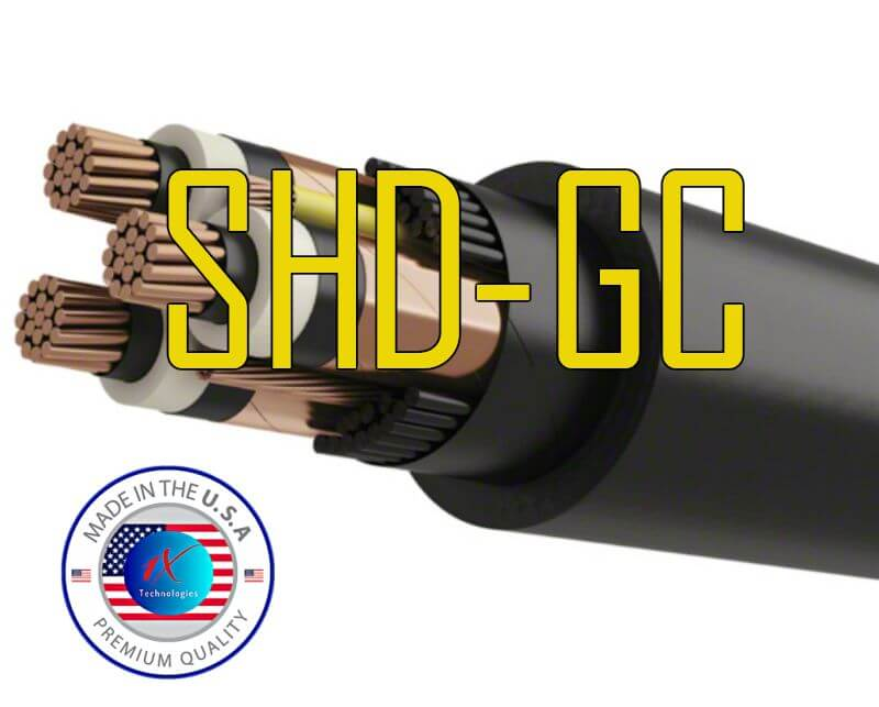 1XTech® SHD-GC 5KV Cable, 5000 Volts 90°C Trailing Cable Specification, Price, Manufacturers